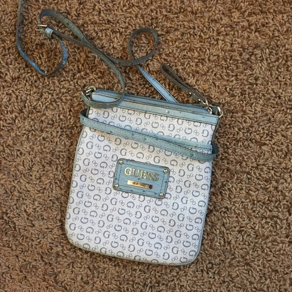 Guess cross body bag purse